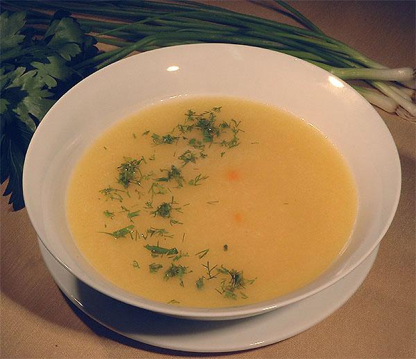 рецепты супов для грудничка