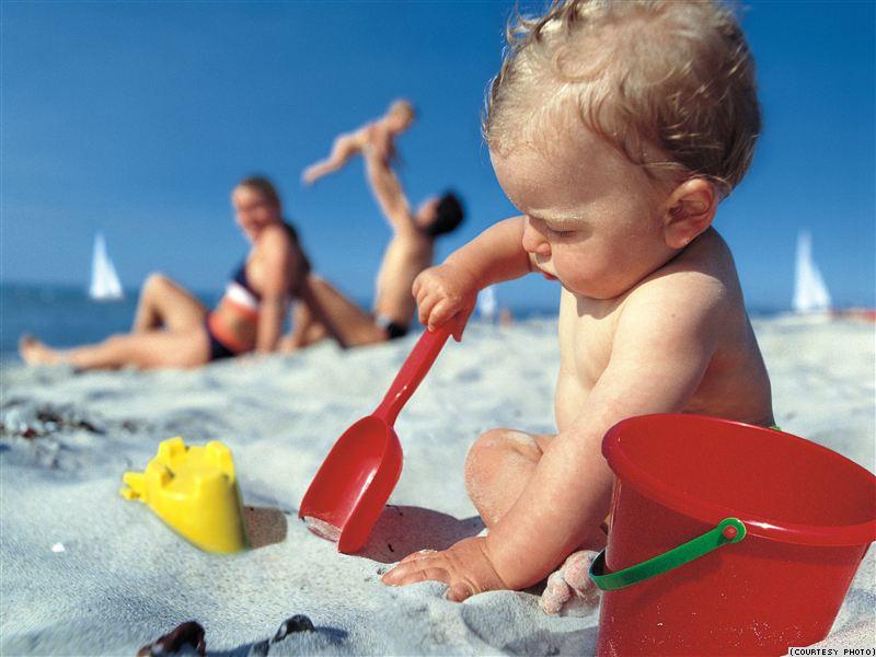 в отпуск с грудным ребенком