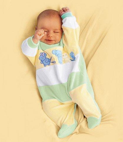 Как одевать новорожденного ?