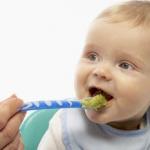 порядок прикорма ребенка с 5 месяцев