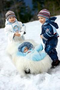 выбираем зимний детский пуховик