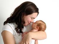 Питание матери в первый месяц