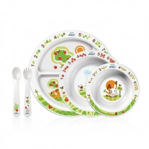 Выбор детской посуды