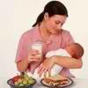 Принципы меню кормящей мамы