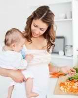 Приблизительное меню кормящей мамы