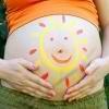 Правила загара во время беременности