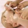 gnoitsia glazik u novorozhdennogo